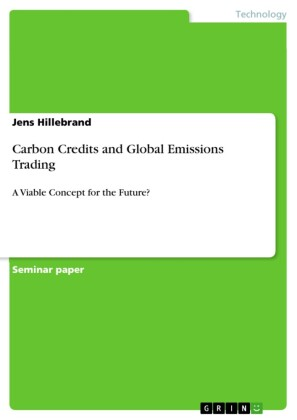 Carbon Credits and Global Emissions Trading