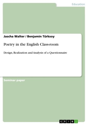 Poetry in the English Class-room