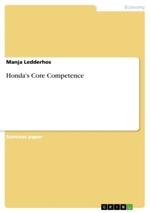 Honda's Core Competence