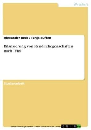 Bilanzierung von Renditeliegenschaften nach IFRS