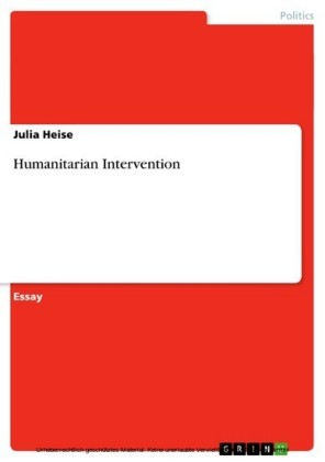 Humanitarian Intervention