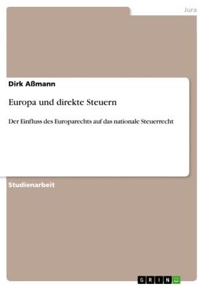 Europa und direkte Steuern