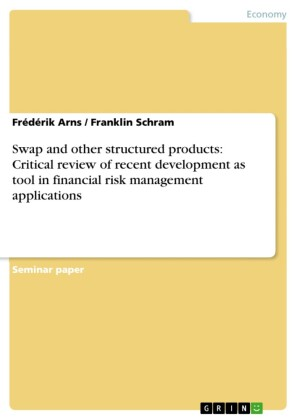 Swap and other structured products: Critical review of recent development as tool in financial risk management applications