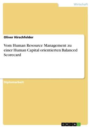 Vom Human Resource Management zu einer Human Capital orientierten Balanced Scorecard