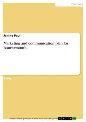 Marketing and communication plan for Bournemouth