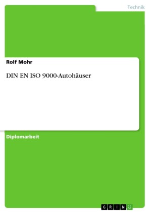 DIN EN ISO 9000-Autohäuser