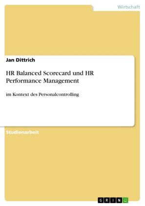 HR Balanced Scorecard und HR Performance Management