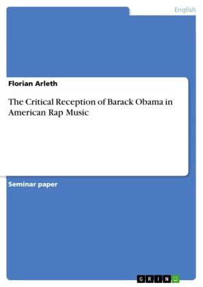 The Critical Reception of Barack Obama in American Rap Music