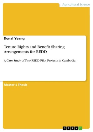 Tenure Rights and Benefit Sharing Arrangements for REDD