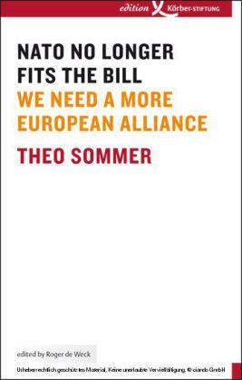 NATO No Longer Fits The Bill