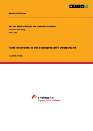 Parteienverbote in der Bundesrepublik Deutschland