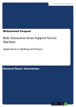 Rule Extraction from Support Vector Machine