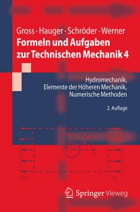 Hydromechanik, Elemente der höheren Mechanik, Numerische Methoden