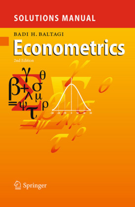 Solutions Manual for Econometrics