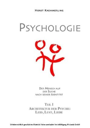 PSYCHOLOGIE - Der Mensch auf der Suche nach seiner Identität.