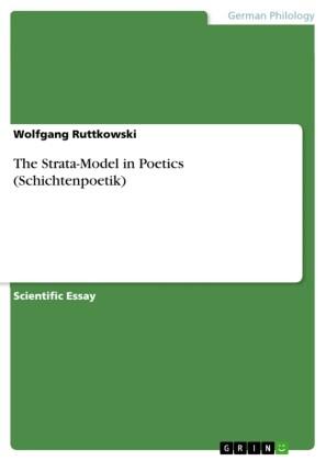 The Strata-Model in Poetics (Schichtenpoetik)