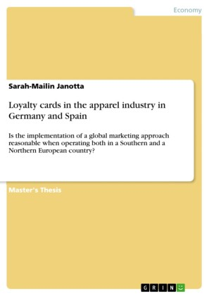 Loyalty cards in the apparel industry in Germany and Spain