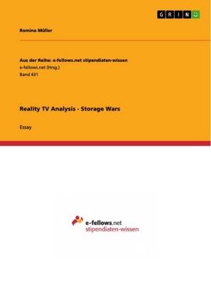 Reality TV Analysis - Storage Wars