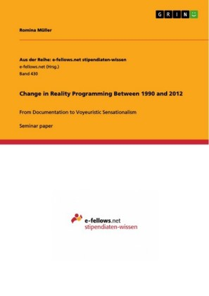 Change in Reality Programming Between 1990 and 2012