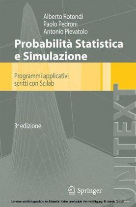 Probabilità Statistica e Simulazione