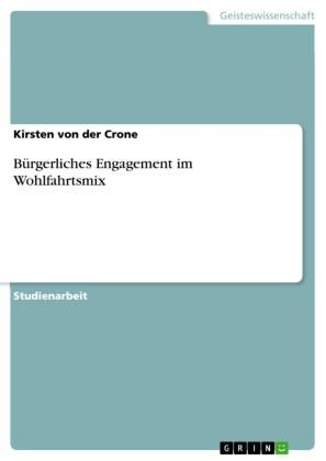 Bürgerliches Engagement im Wohlfahrtsmix