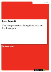 The European social dialogue on sectoral level: transport