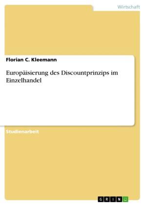 Europäisierung des Discountprinzips im Einzelhandel