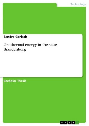 Geothermal energy in the state Brandenburg