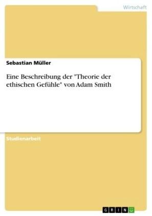 Eine Beschreibung der 'Theorie der ethischen Gefühle' von Adam Smith