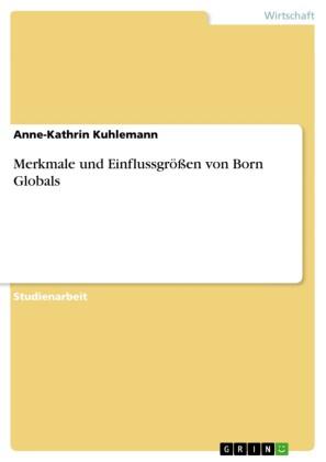 Merkmale und Einflussgrößen von Born Globals