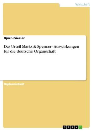 Das Urteil Marks & Spencer - Auswirkungen für die deutsche Organschaft