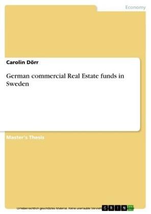 German commercial Real Estate funds in Sweden