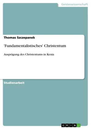 'Fundamentalistisches' Christentum
