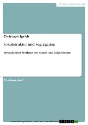 Sozialstruktur und Segregation