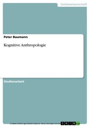 Kognitive Anthropologie