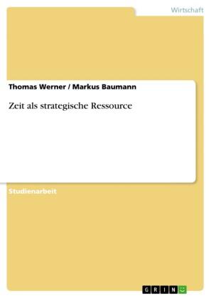 Zeit als strategische Ressource