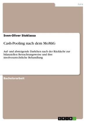 Cash-Pooling nach dem MoMiG