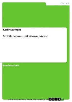 Mobile Kommunikationssysteme