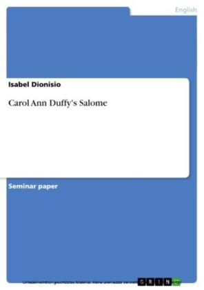 Carol Ann Duffy's Salome