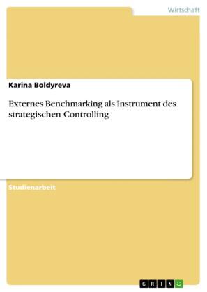 Externes Benchmarking als Instrument des strategischen Controlling