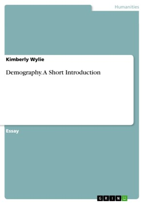 Demography. A Short Introduction