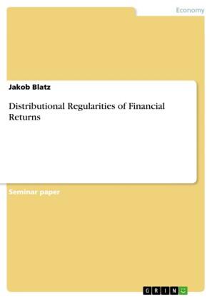 Distributional Regularities of Financial Returns
