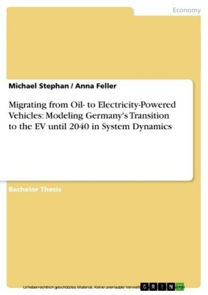 Migrating from Oil- to Electricity-Powered Vehicles: Modeling Germany's Transition to the EV until 2040 in System Dynamics