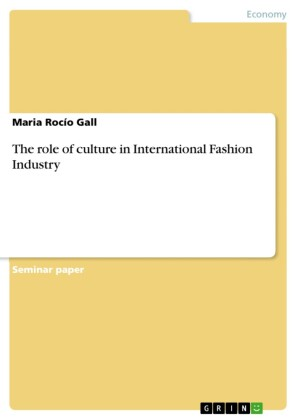 The role of culture in International Fashion Industry