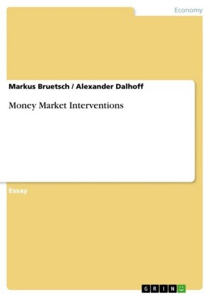 Money Market Interventions