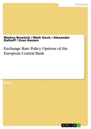 Exchange Rate Policy Options of the European Central Bank
