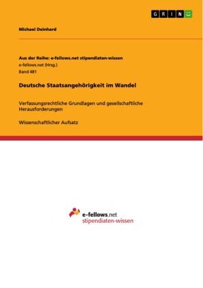 Deutsche Staatsangehörigkeit im Wandel