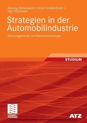 Strategien in der Automobilindustrie