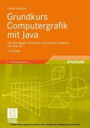 Grundkurs Computergrafik mit Java