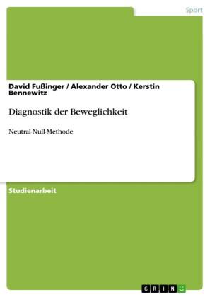 Diagnostik der Beweglichkeit